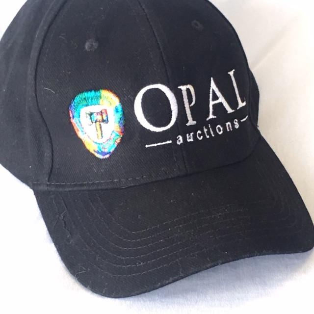 Opalauctions  Logo hat