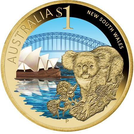 Australian gold coins from New South Wales