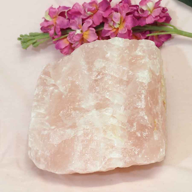 4.85kg Healing Rose Quartz Rough J485