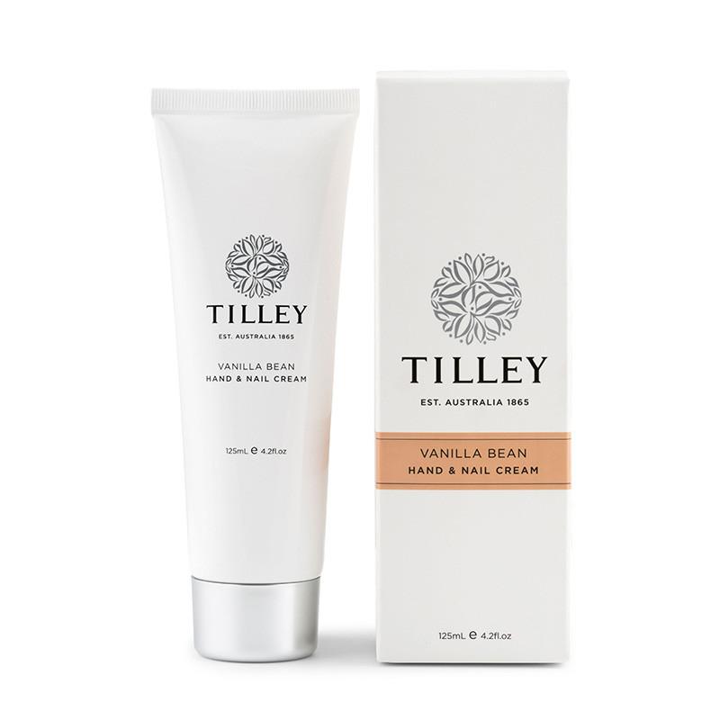 Tilley Hand & Nail Cream Vanilla Bean 125ml
