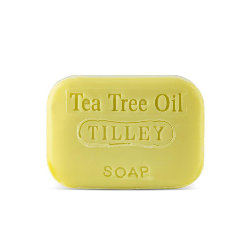 Tilley Stamped Soap Tea Tree Oil 100g