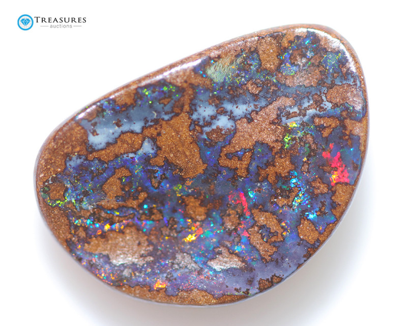 13.30Cts  Queensland  Koroit Boulder opal,nice pattern  CH152