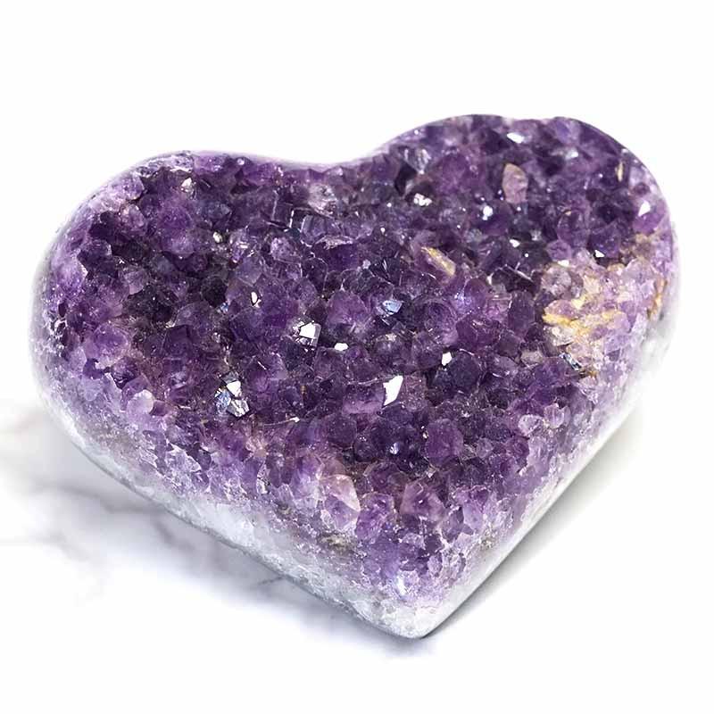0.375kg Natural Amethyst Druze Heart DS267