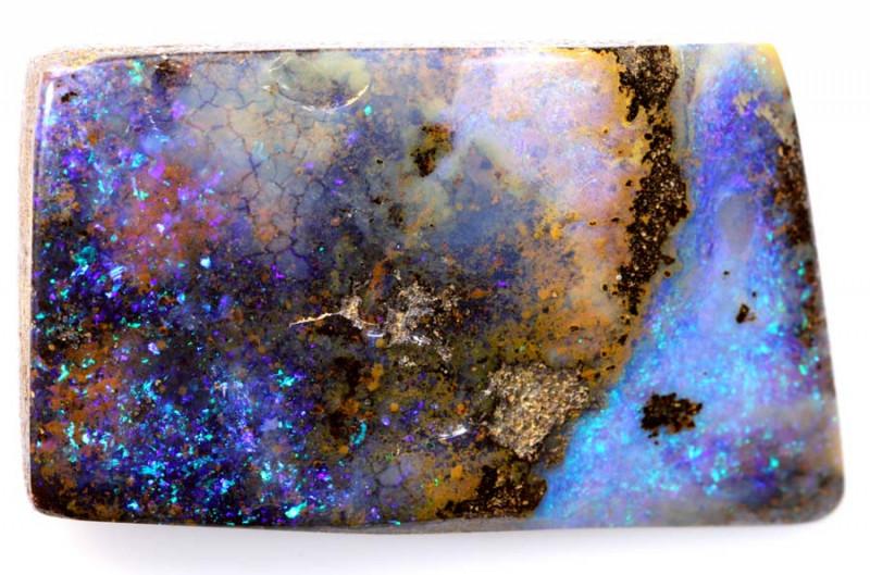 57.15 CTS- BOULDER OPAL POLISHED  CUT  STONE  RJA -838-rarejewelry
