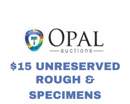 Rough & Specimen - $15 Unreserved