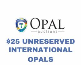 International Opal - $25 Unreserved