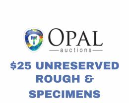 Rough & Specimen - $25 Unreserved