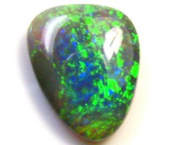 BLUE AND GREEN FUSION FIRE  OPAL CRYSTAL 1.40 CT SS1027