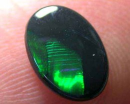 SOLID BLACK OPAL 0.50 CTS A1344
