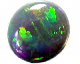 GREEN FLASH FIRE NATURAL BLACK OPAL 1.50 CTS SS 709
