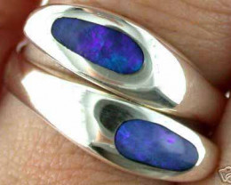 INLAY OPAL RING SIZE 7-8  EN 575