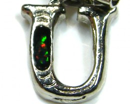 MOBILE PHONE/ KEY RING OPAL ACCESSORY LETTER U
