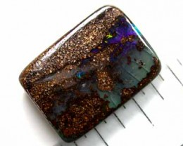 FREE SHIPPING NATURAL BOULDER OPAL 6.10CTS GR56