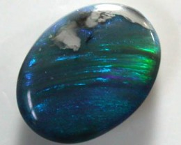BLACK OPAL FIRE CABOCHON 1.30 CT W48