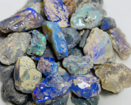 Nobby Rough Opals With Cutters- Bright Rough, 235 CTs#439