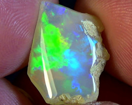 10.10 cts Ethiopian Welo CHAFF polished opal N7 4/5