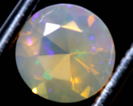 0.85 CTS LIGHTNING RIDGE FACETED CRYSTAL OPAL TBO-A2779