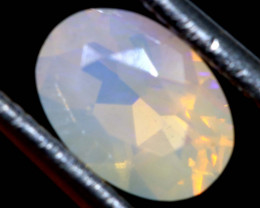 0.80 CTS LIGHTNING RIDGE FACETED CRYSTAL OPAL TBO-A2782