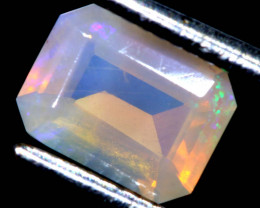 0.55 CTS LIGHTNING RIDGE FACETED CRYSTAL OPAL TBO-A2783