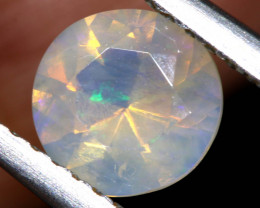 0.65 CTS LIGHTNING RIDGE FACETED CRYSTAL OPAL TBO-A2787