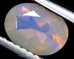 0.75 CTS LIGHTNING RIDGE FACETED CRYSTAL OPAL TBO-A2788