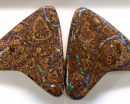 98.3 CTS  BOULDER OPAL PAIR   RO-1070