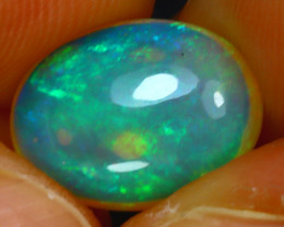 Welo Opal 3.12Ct Natural Ethiopian Play of Color Opal H0504/A44