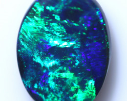 2.55 CTS BLACK OPAL STONE-FROM LIGHTNING RIDGE - [LRO1804]