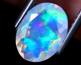 1.15cts Natural Ethiopian Faceted Welo Opal / NY1405