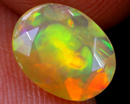 0.96cts Natural Ethiopian Faceted Welo Opal / NY1417