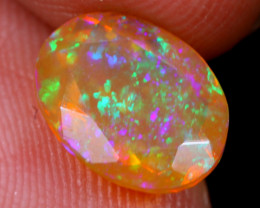 1.49cts Natural Ethiopian Faceted Welo Opal / NY1419