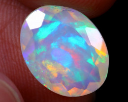 2.33cts Natural Ethiopian Faceted Welo Opal / NY1422