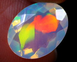 2.24cts Natural Ethiopian Faceted Welo Opal / NY1424