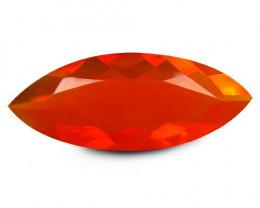 Opal 2.52 Cts Red Portuguese Cut BGC933
