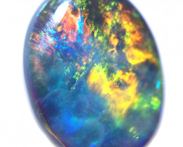 1.10 CTS BLACK OPAL STONE-FROM LIGHTNING RIDGE - [LRO1828]