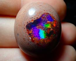 45.43ct Mexican Matrix Cantera Multicoloured Fire Opal