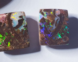 Bulder Opal Pair from Jundah Queensland