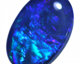 1.50 CTS BLACK OPAL STONE-FROM LIGHTNING RIDGE - [LRO1876]
