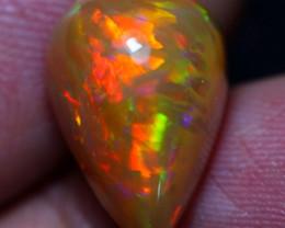 Valentine Offer 5.20cts Unique Phoenix Feather Natural Ethiopian Welo Opal