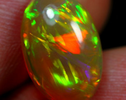 Valentine Offer 4.25cts AAA Chaff and Stripe Natural Ethiopian Welo Opal