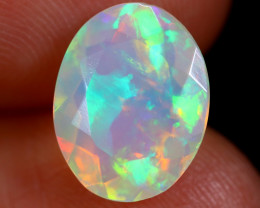 2.23cts Natural Ethiopian Faceted Welo Opal / BF6046