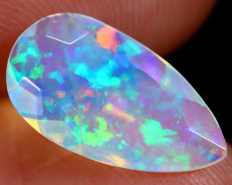 1.38cts Natural Ethiopian Faceted Welo Opal / BF6052