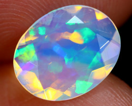 1.31cts Natural Ethiopian Faceted Welo Opal / BF6054