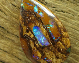 12cts, BOULDER PIPE OPAL~LOW RESERVE!