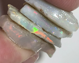 Multicolour Rough- 28 CTs of Rough Seam Opals to Cut#537