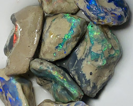Multicolour Nobby Rough Opals- Select Bright Rough to Cut/Carve#542