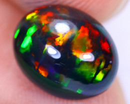 2.10cts Natural Ethiopian Welo Smoked Opal / HM2193
