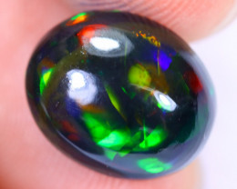3.49cts Natural Ethiopian Welo Smoked Opal / HM2194