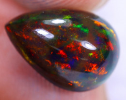 3.37cts Natural Ethiopian Welo Smoked Opal / HM2199