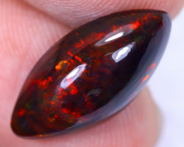 3.22cts Natural Ethiopian Welo Smoked Opal / HM2210